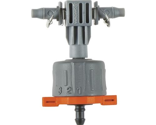 GARDENA Système Micro-Drip Goutteur en ligne réglable, compensation de la pression
