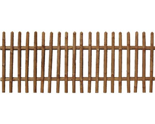 Clôture verticale 250x79 cm, traitée en autoclave par imprégnation