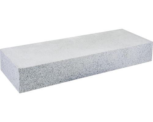 Bloc de marche en granit gris 50x35x15cm