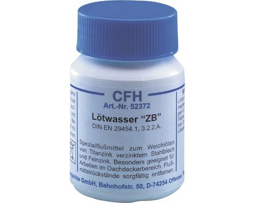 Eau à souder pour tôle de zinc CFH LWZ 372