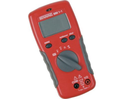 Multimètre numérique MM 1-1 Benning 044081
