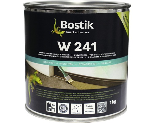 Membrane d''étanchéité hybride universelle Bostik W 241 1 kg