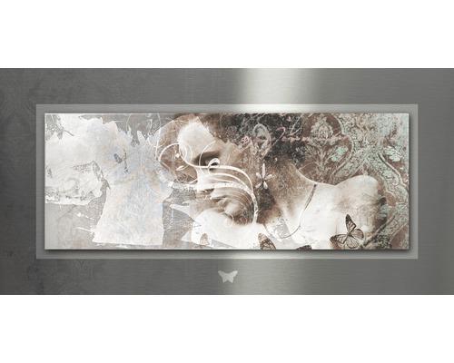 Tableau en métal Passion II 50x100 cm