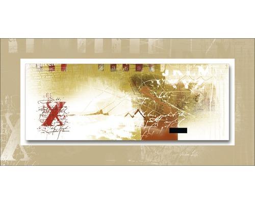 Tableau en métal Mix On Bisquit 50x100 cm