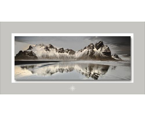 Tableau en métal Reflections 50x100 cm