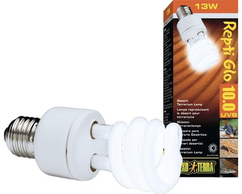 Tube fluorescent compacts pour terrarium Exo Terra Repti Glo 10.0 13 W