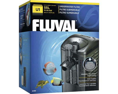 Filtre intérieur pour aquarium Fluval U1 45 l