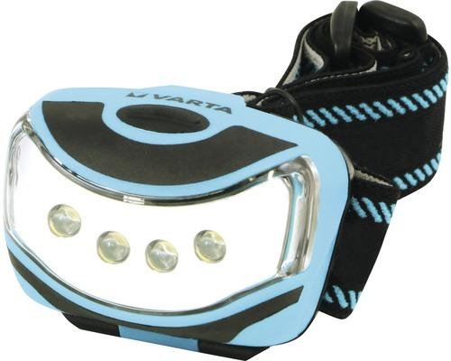 Lampe frontale à LED Varta Outdoor Sports bleue/noire