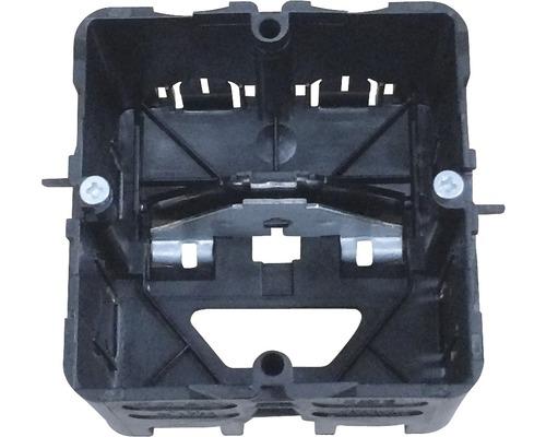 Boîtier de montage canal d'allège Hager noir GLS5500