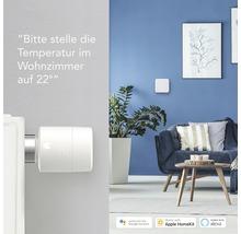 Thermostat de radiateur intelligent tado produit supplémentaire pour commande de pièces individuelles pour une commande du chauffage intelligente - compatible avec SMART HOME de HORNBACH-thumb-4