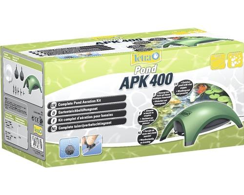 Set d''aération des plans d''eau de jardin TetraPond APK 400 Air Pump