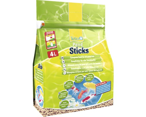 TetraPond Nourriture pour poissons Sticks 4 L
