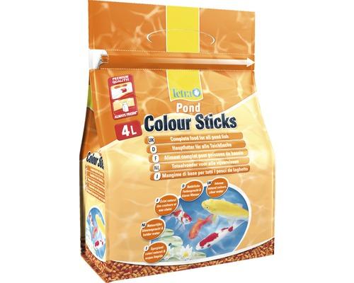 TetraPond Nourriture pour poissons Colour Sticks 4 L