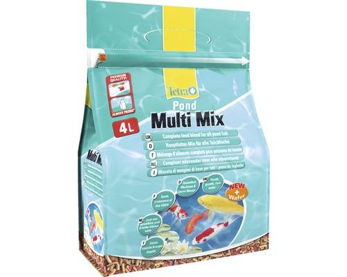 TetraPond Nourriture pour poissons Multi Mix 4 L