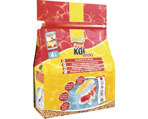 TetraPond Nourriture pour carpes Koï Sticks 4 L