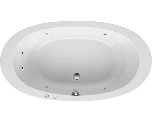 Whirlpool Basis Circulo 180x96 cm weiß