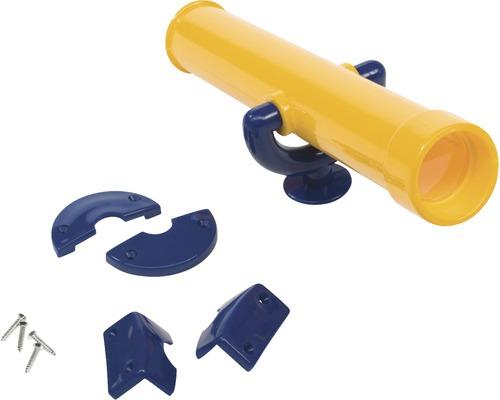 Télescope axi plastique jaune-bleu