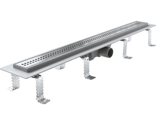 Duschrinne Kunststoff 850 mm APZ9 für mind. 90 cm Breite Dusche edelstahl