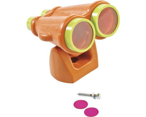 Longue-vue axi plastique orange-citron vert