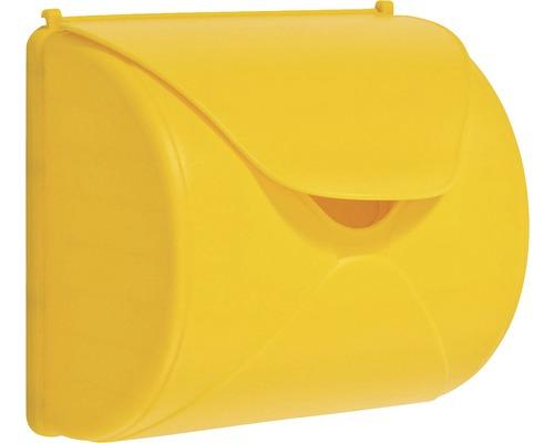 Boîte aux lettres axi plastique jaune