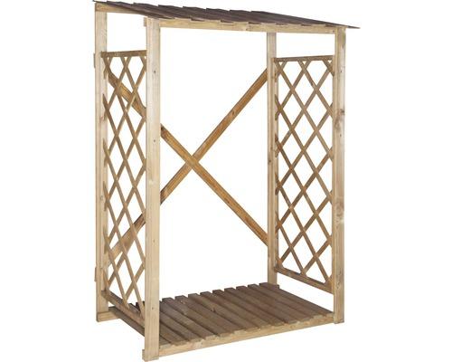 Abri pour bois de chauffage, 120x60x170/180cm