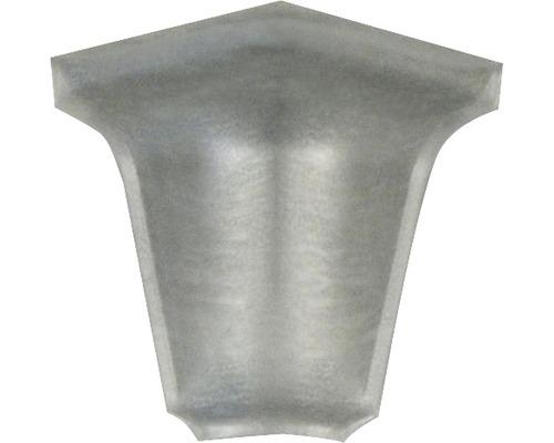 Innenecke PICCANTE für Wandabschlussprofil 37 metall edelstahl gebürstet 39/36 1 Stück