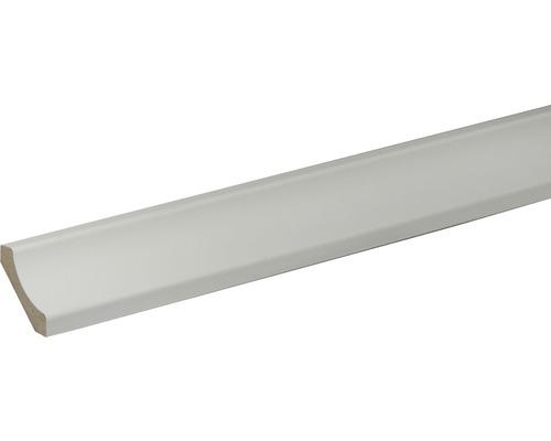 Moulure creuse blanc 28x28x2400 mm