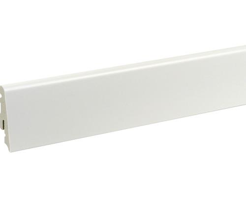 Plinthe blanche 13,5x58x2400 mm