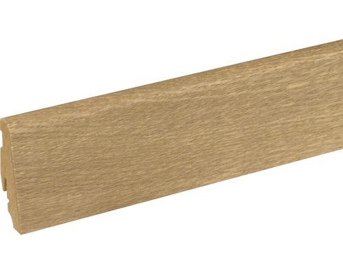 Plinthe SU060L chêne caramel FGEI201 19x58x2400mm