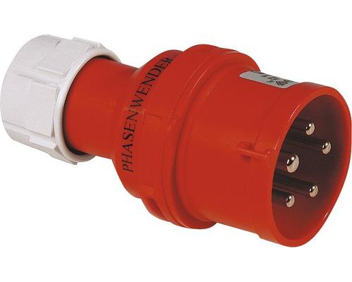 Inverseur de phase CEE PCE 16A IP44 5 pôles rouge