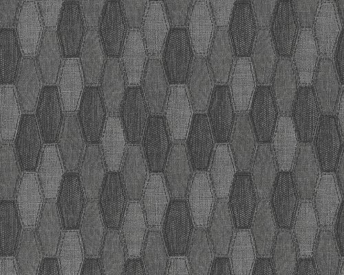 Papier Peint Intisse 30693 4 Around The World Textile Gris
