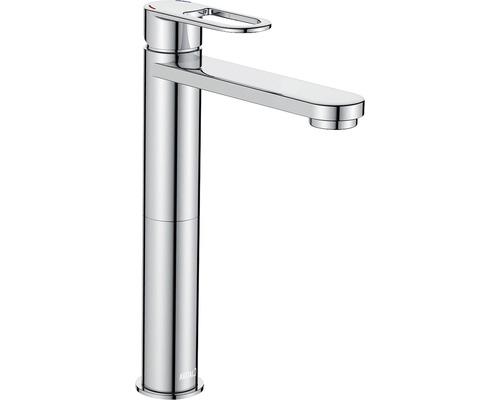 Mitigeur de lavabo AVITAL Sola chrome, mécanisme de vidage inclus
