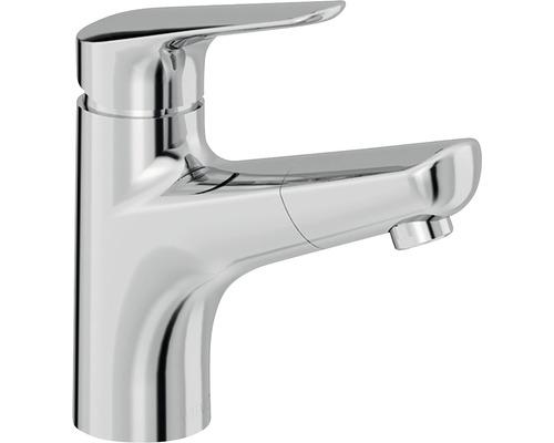 Mitigeur de lavabo AVITAL Lana chrome avec bonde d''évacuation Push-open