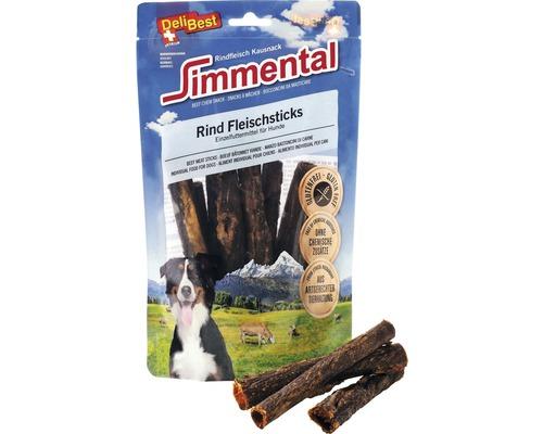 Friandise pour chiens DeliBest Simmental bâtonnets de viande de bœuf 150g