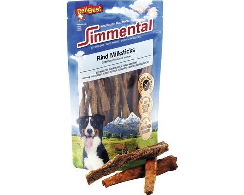 Hundesnack DeliBest Simmental Rind Milksticks 200 g