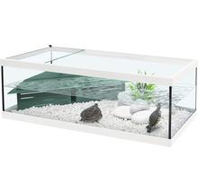 Terrarium aquatlantis Tortum 100x40x30cm blanc-thumb-0