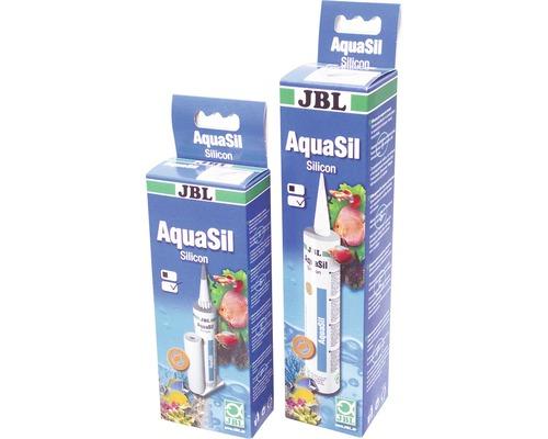 Silicone d''aquarium JBL AquaSil transparent 80ml