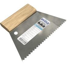 Spatule à colle en acier denture B3 180mm-thumb-0