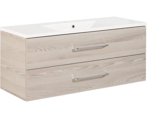 Kit de meubles de salle de bains FACKELMANN B.clever 120 frêne Alaska