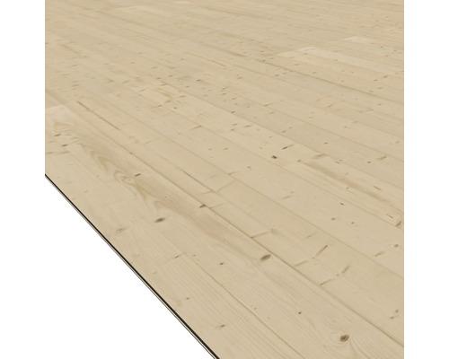 Plancher Karibu pour dimensions de socle 220 x 280cm, naturel