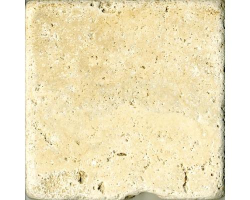 Marbre Travertino chiaro 10 x 10 cm