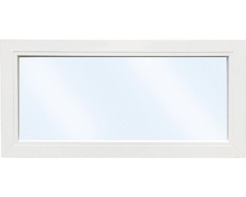 Élément fixe de fenêtre en plastique ARON Basic blanc 700x400 mm (non ouvrable)