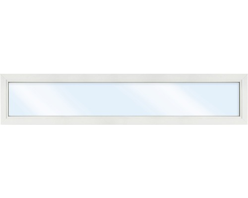 Élément fixe de fenêtre en plastique ARON Basic blanc 1150x400 mm (non ouvrable)