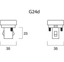 Ampoule économique G24d 13 W blanc neutre-thumb-3