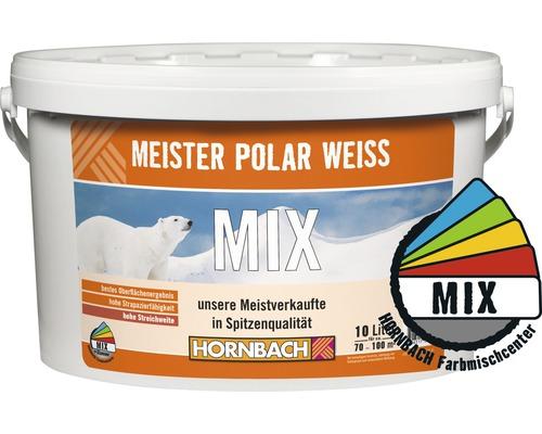Peinture murale Meister Polarweiß dans le coloris de votre choix 10l