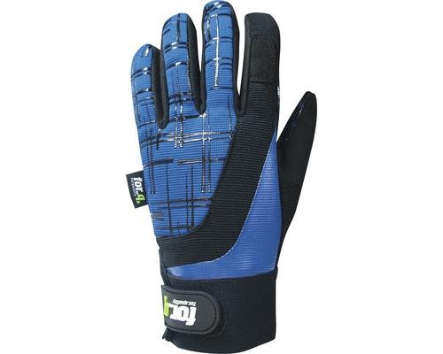 Gants de jardin for_q grip 1 paire Taille S, bleu-noir