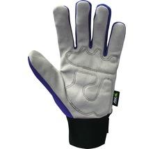 Gants de jardin for_q gardening 1 paire Taille XL, bleu-thumb-1