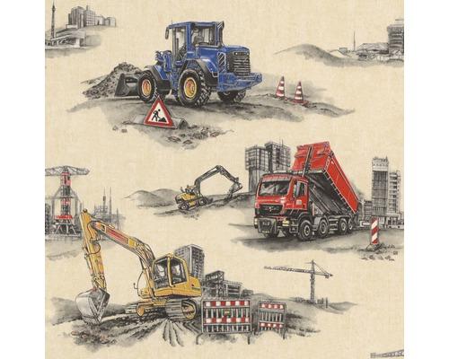 Papier peint 293500 Kids & Teens 2 chantier gris
