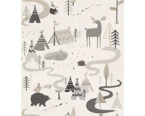 Papier peint 292404 Kids & Teens 2 forêt d''indiens