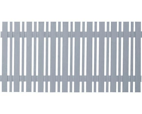 Clôture de jardin ECO 180 x 80 cm, gris mat